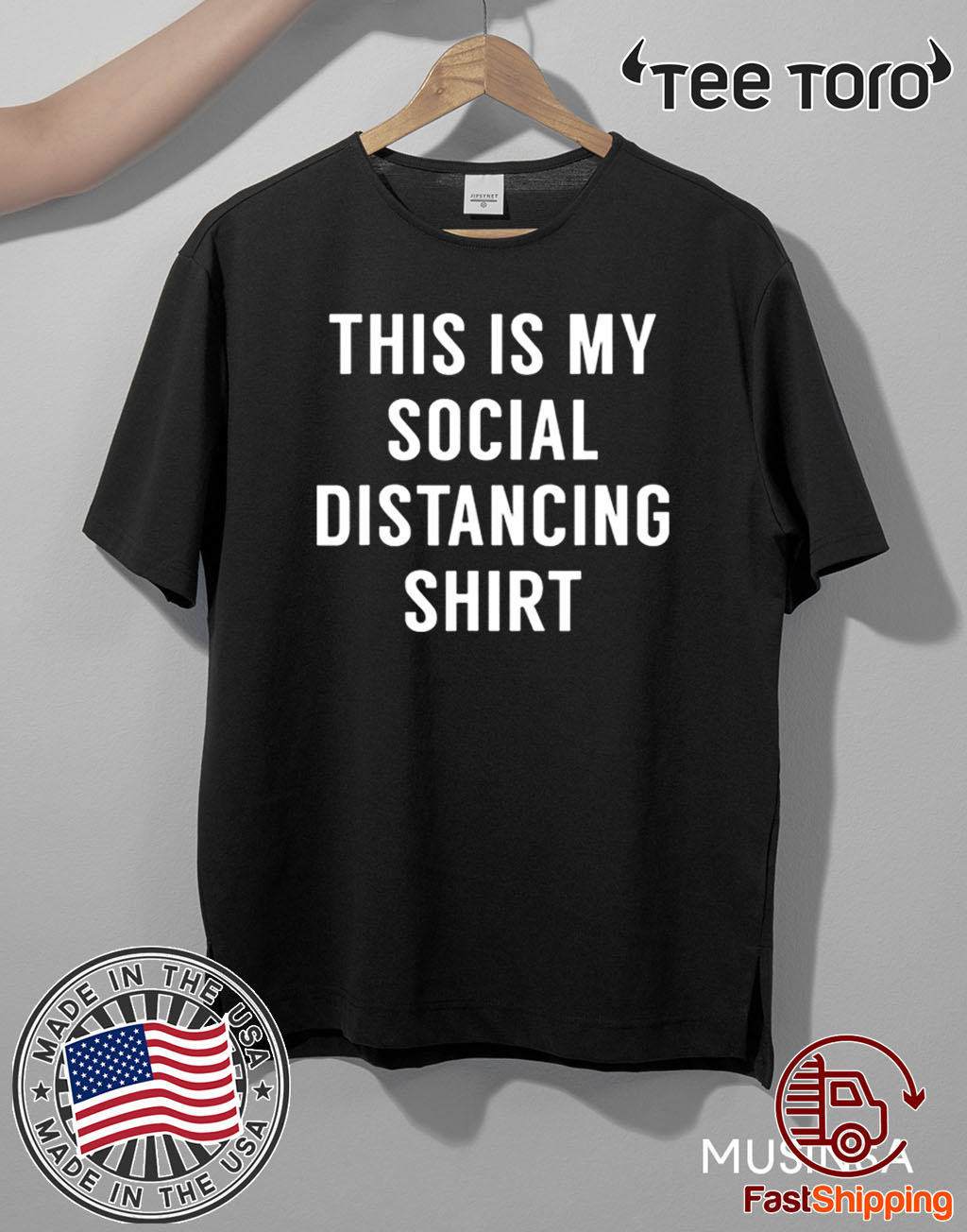 This is My Social Distancing Shirt Classic T-Shirt