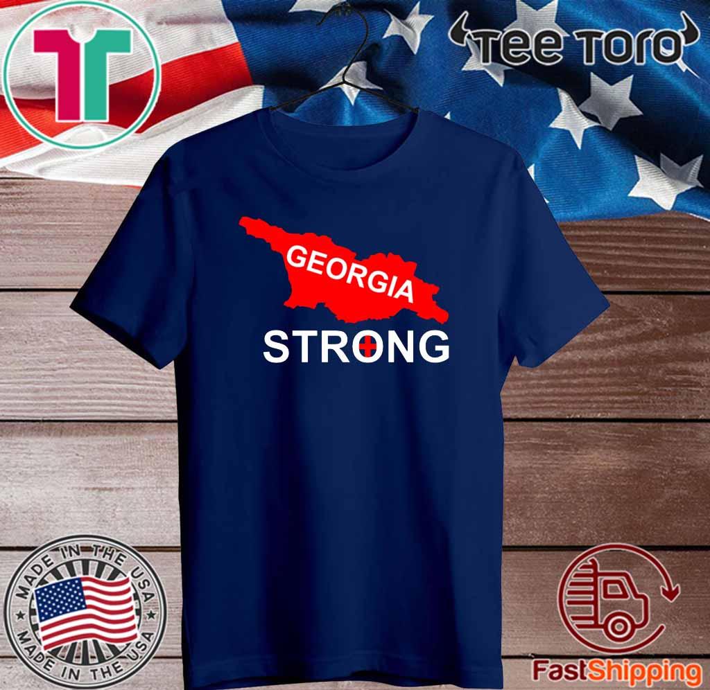 georgia strong Flag T-Shirt