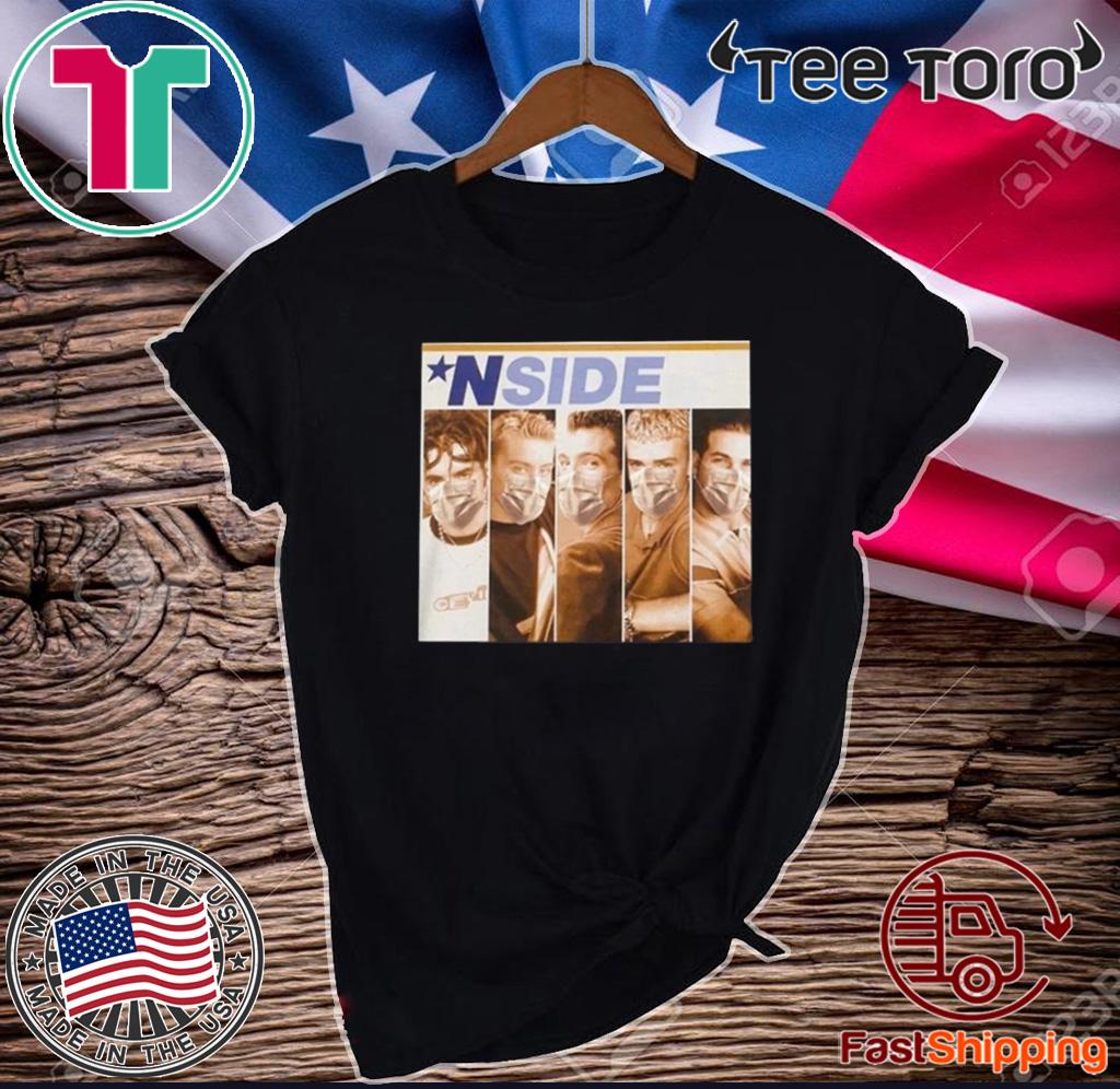 *NSIDE Shirt, NSYNC - NSYNC Masks For T-Shirt