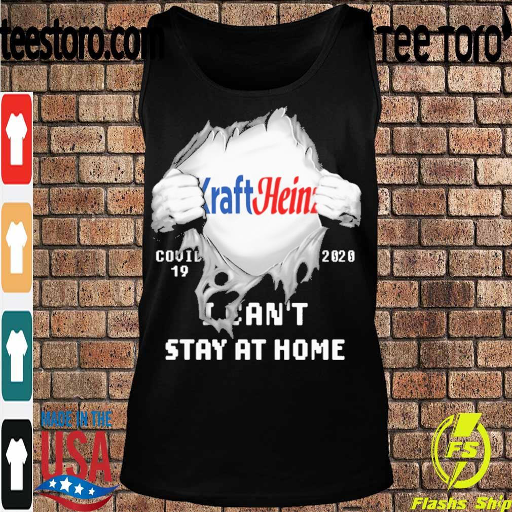 Blood inside me Kraft Heinz covid-19 2020 I can't stay at home s Tanktop