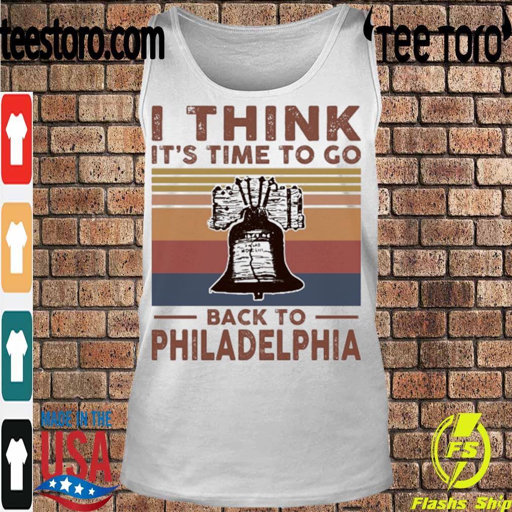 I think it's time to go back to Philadelphia vintage s Tanktop