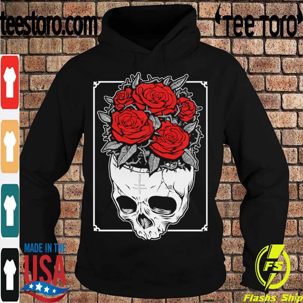 Skull Roses s Hoodie