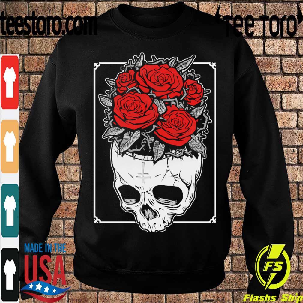 Skull Roses s Sweatshirt