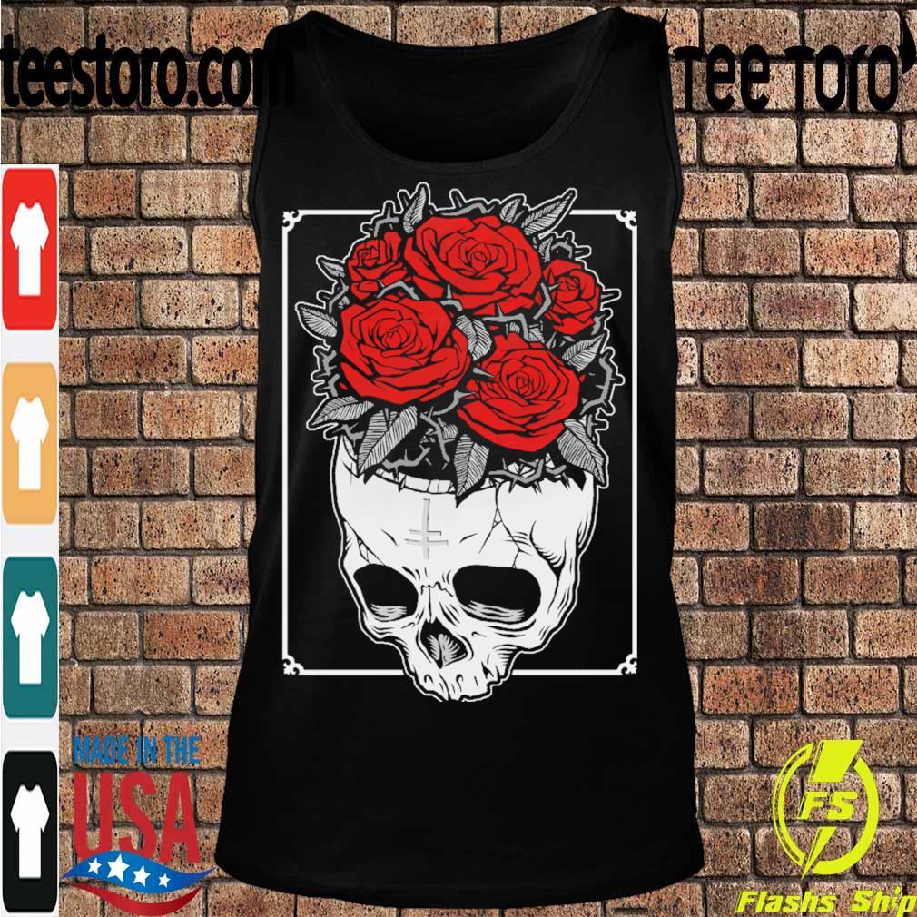 Skull Roses s Tanktop