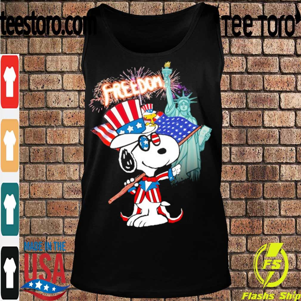 Snoopy Flag Day freedom s Tanktop