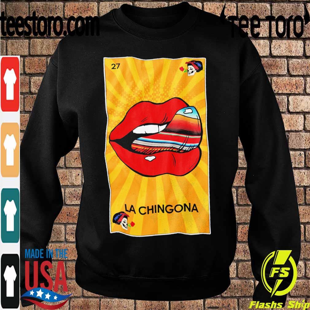 27 Lips La Chingona s Sweatshirt