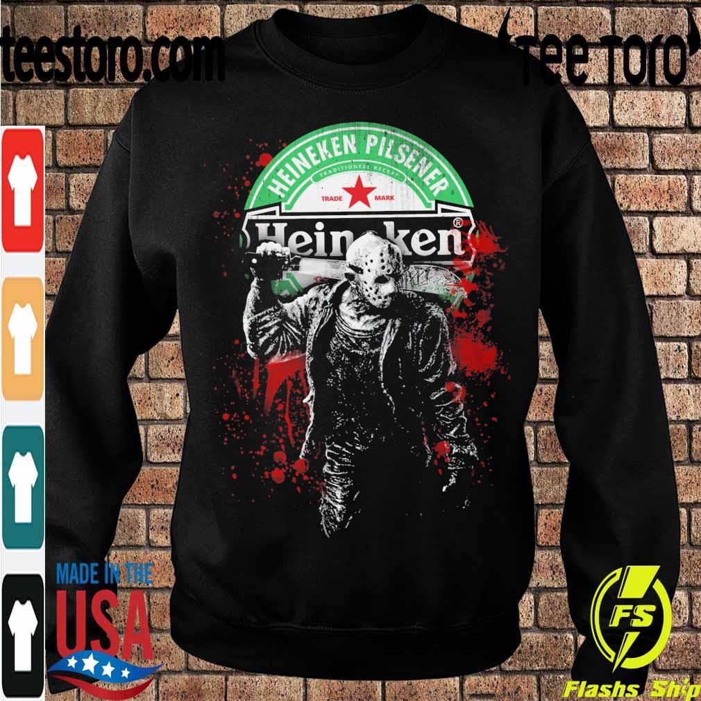 Jason Voorhees Heineken Pilsener s Sweatshirt