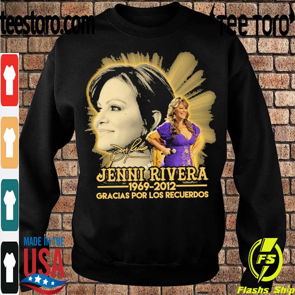 Jenni Rivera 1969 2012 Gracias por los recuerdos signature s Sweatshirt