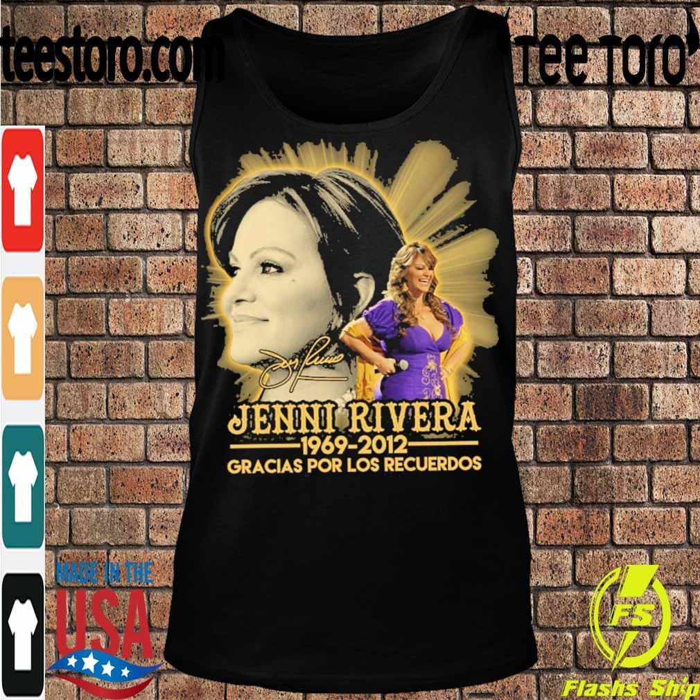 Jenni Rivera 1969 2012 Gracias por los recuerdos signature s Tanktop