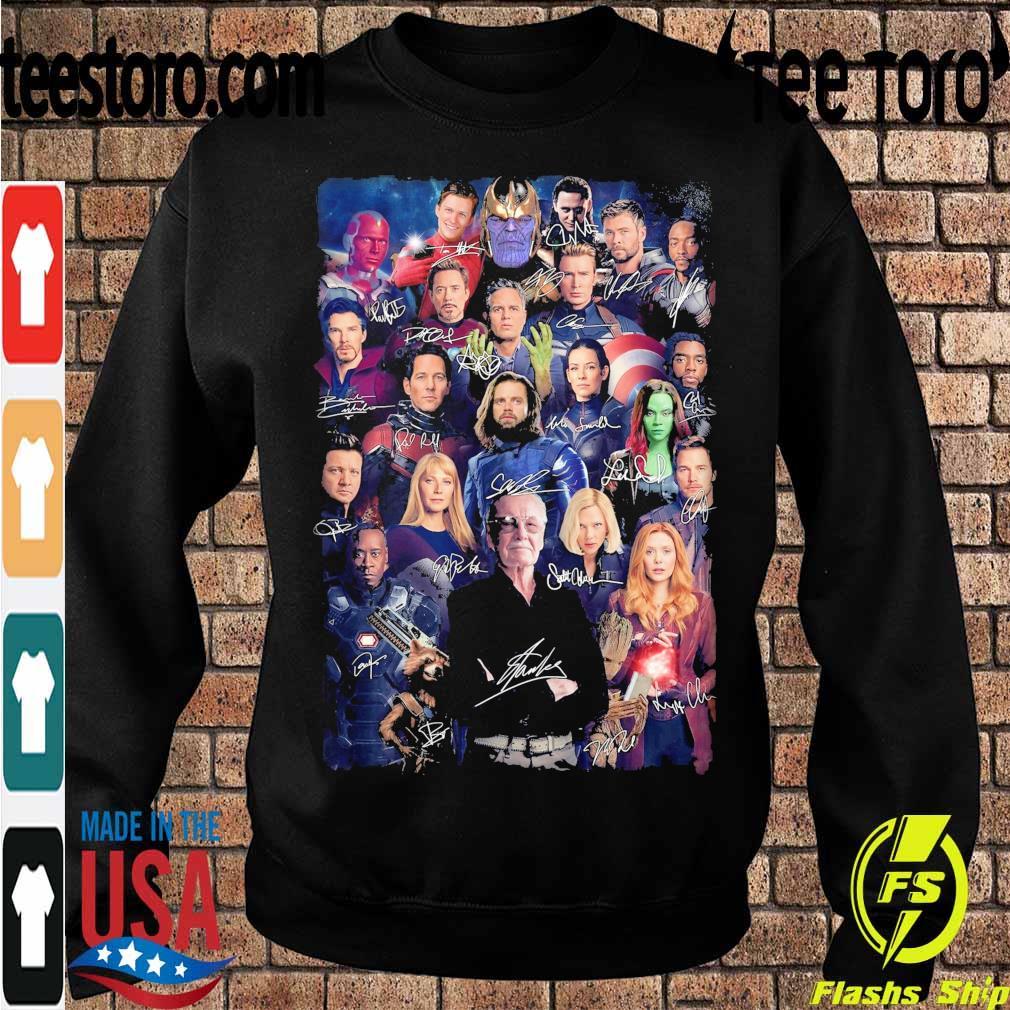 Marvel Avengers Endgame signatures s Sweatshirt