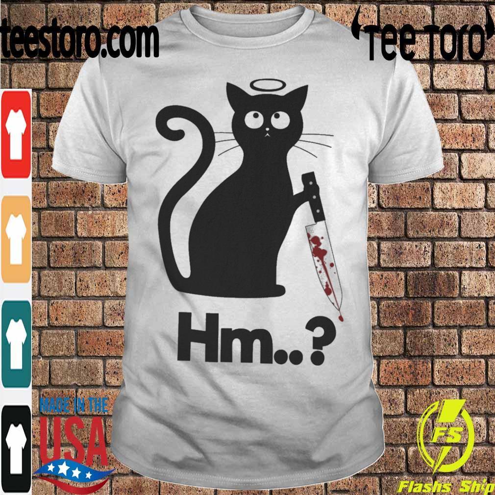 Michael Myers black Cat Hm shirt