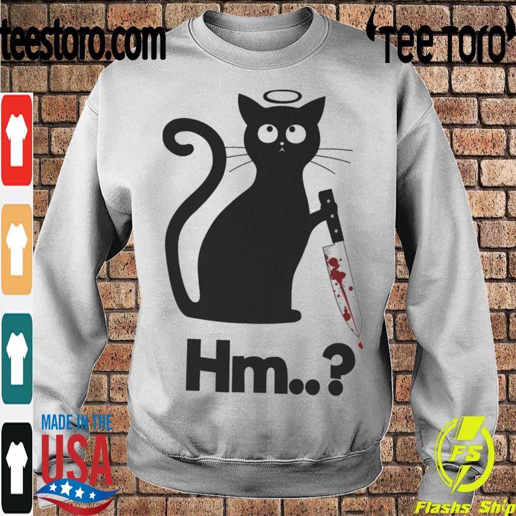 Michael Myers black Cat Hm s Sweatshirt