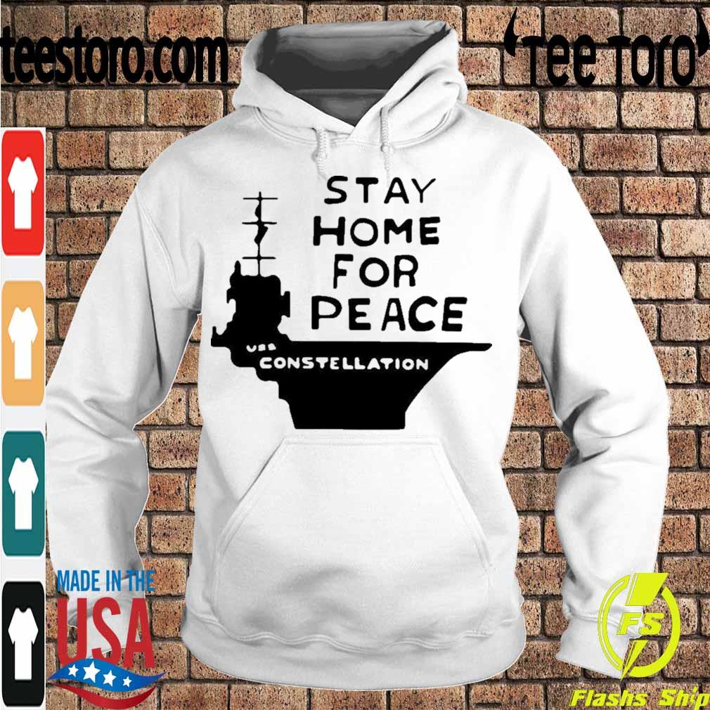 Official Stay Home For Peace Vss Constellation Shirt Hoodie