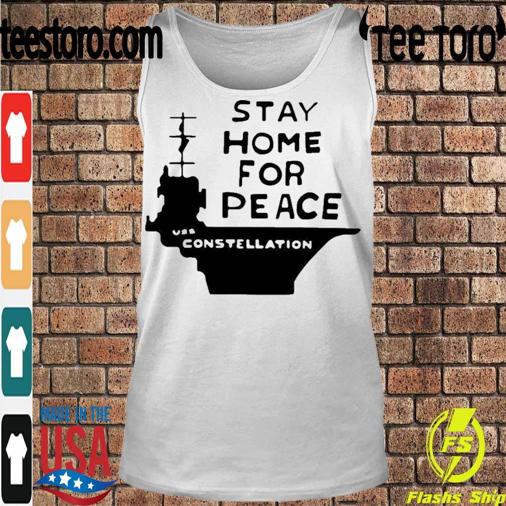 Official Stay Home For Peace Vss Constellation Shirt Tanktop