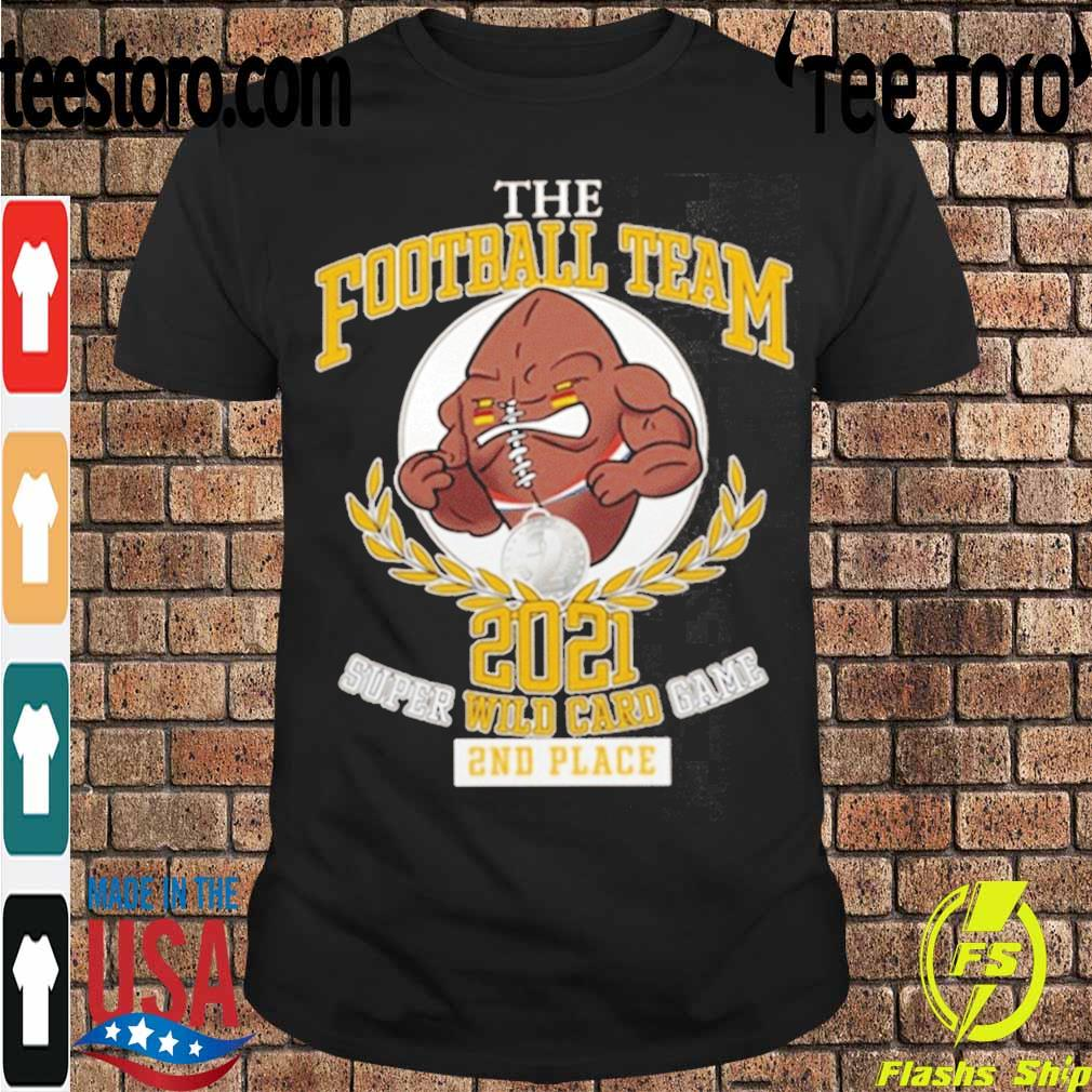 Official The Football Team 2021 Super Wild Card Game 2nd Place Shirt
