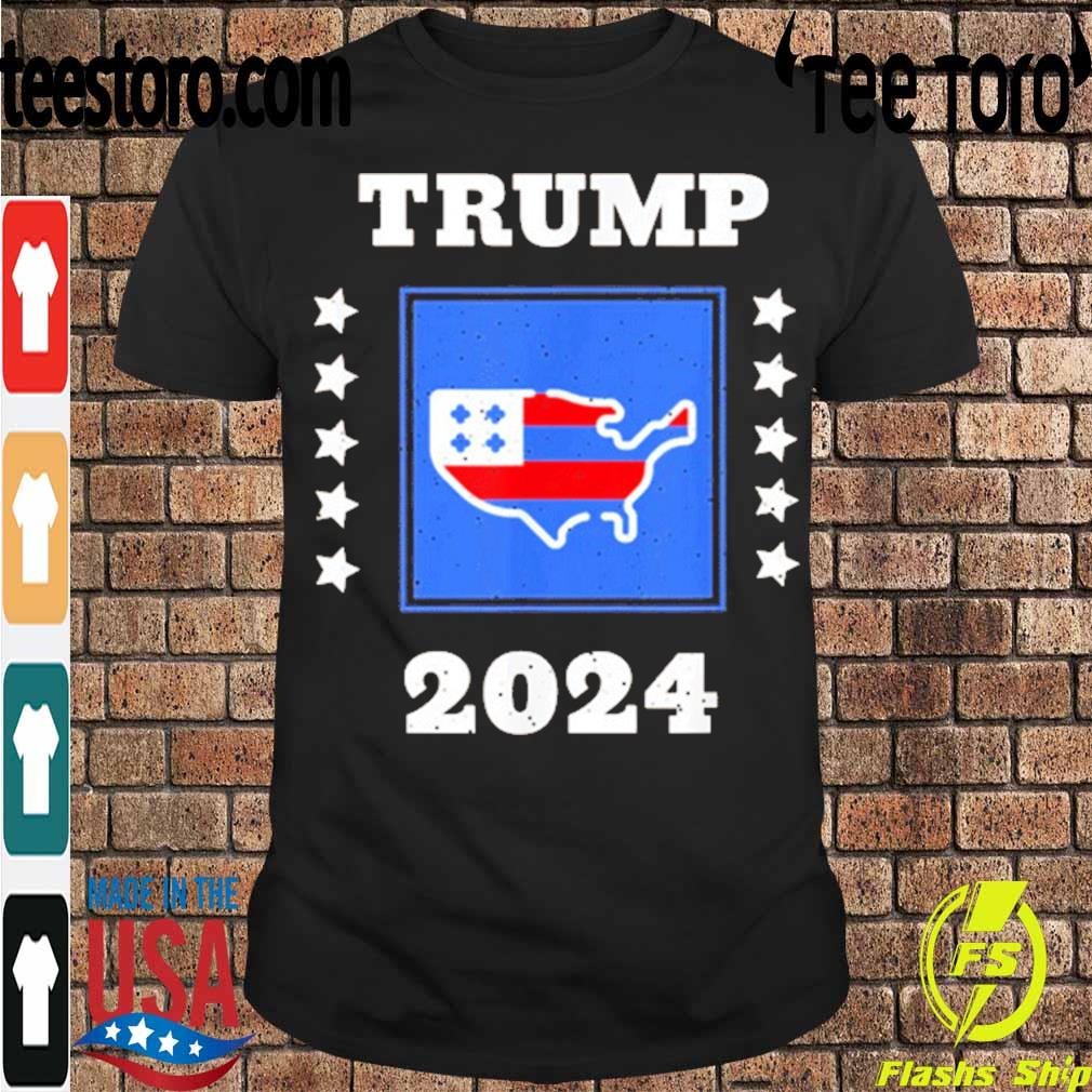 Official Trump 2024 Election Flag Keeping America Great American Flag President Shirt