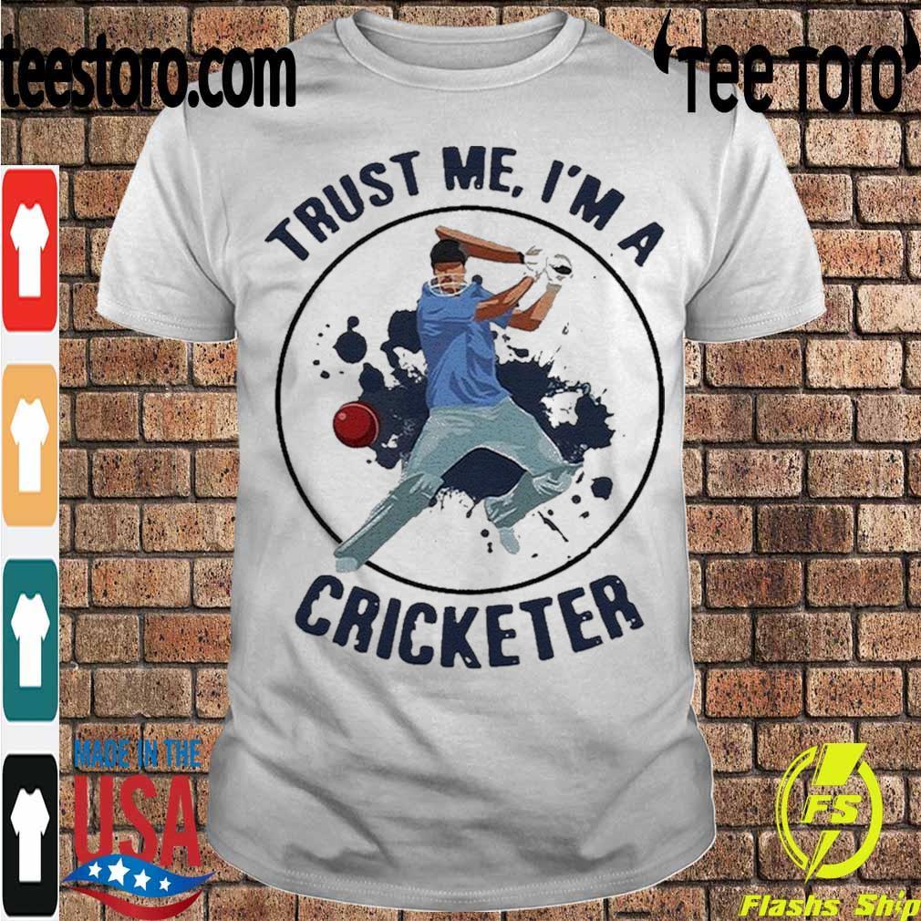 Official Trust Me I'm A Cricketer Shirt