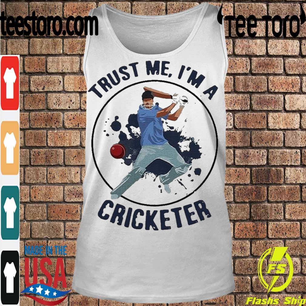 Official Trust Me I'm A Cricketer Shirt Tanktop