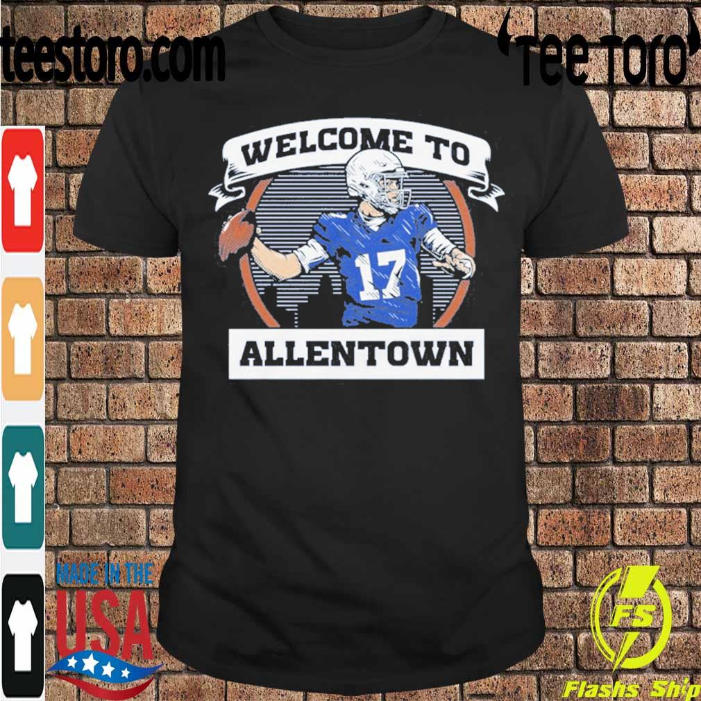 Official Welcome To Allentown Shirt