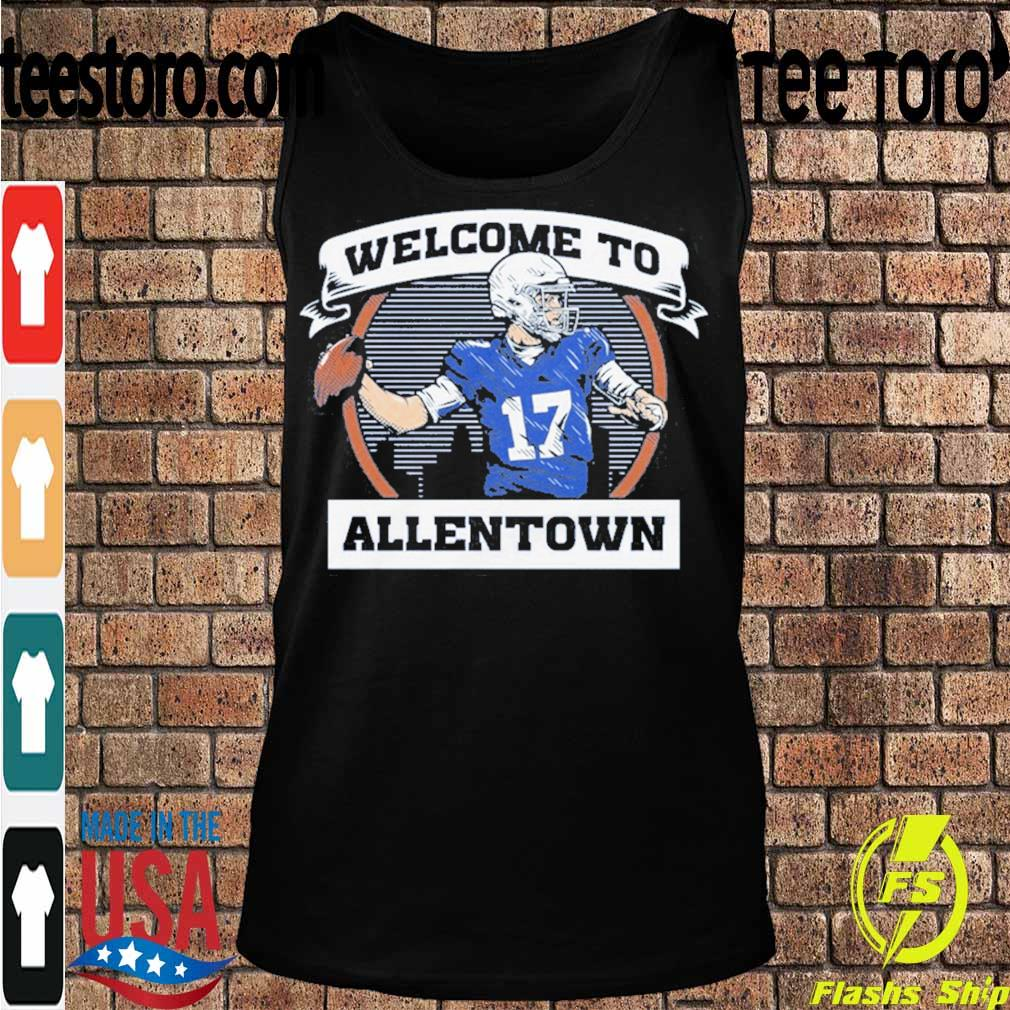 Official Welcome To Allentown Shirt Tanktop